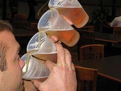 Vasos para beber cerveza