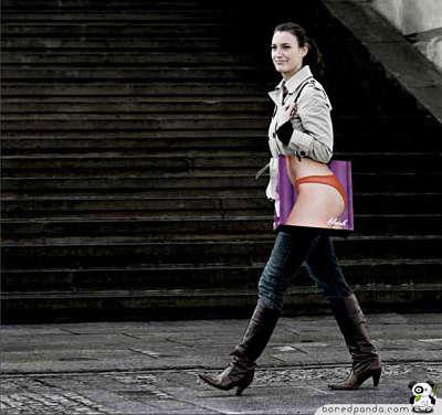 Toca Comer. Bolsa originales para la compra, bragas. Marisol  Collazos Soto