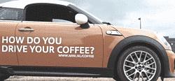Toca Comer. Vinculación de tipo de connsumidor de café en función de la conducción de un mini. Marisol Collazos Soto, Rafael Barzanallana