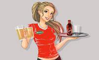 Toca Comer.   Las camareras que visten de rojo obtienen más propinas. Marisol Collazos Soto, Rafael Barzanallana