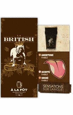 Toca Comer.  La British (Brown Ale) de À la Fût. Marisol Collazos Soto, Rafael Barzanallana
