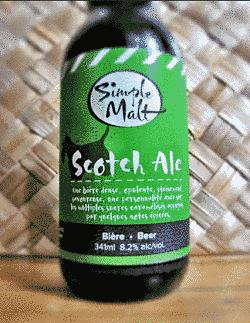 Toca Comer. Scotch Ale de Simple Malt. Marisol Collazos Soto, Rafael Barzanallana