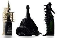 Toca Comer. Originales botellas de champán Zarb. Marisol Colazos Soto
