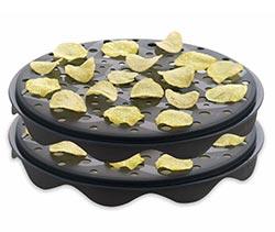 Toca Comer. Patatas tipo chips fritas en microondas. Marisol Collazos Soto, Rafael Barzanallana