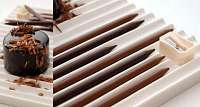 Toca Comer.   Deliciosos lápices de chocolate comestible. Marisol Collazos Soto, Rafael Barzanallana