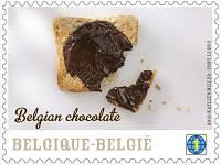 Toca Comer.   Sellos postales con aroma a chocolate. Marisol Collazos Soto, Rafael Barzanallana