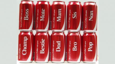 Toca Comer. Coca-Cola lanzará  etiquetas personalizadas, bebidas con nombre propio. Marisol Collazos Soto, Rafael Barzanallana