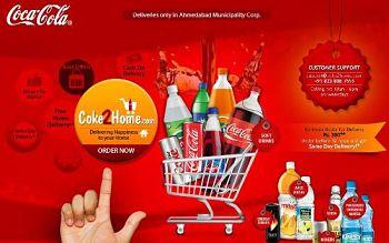 Toca Comer. Coca Cola vende sus productos online. Marisol Collazos Soto, Rafael Barzanallana