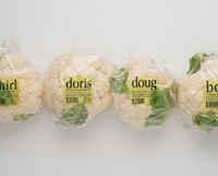 Toca Comer Envase creativo en coliflores. Marisol Collazos Soto