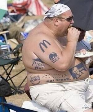 Toca Comer. Tatuajes de usuario de restaurantes de
