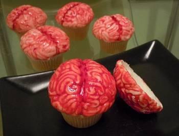 Toca Comer.   Magdalenas de cerebros. Marisol Collazos Soto, Rafael Barzanallana