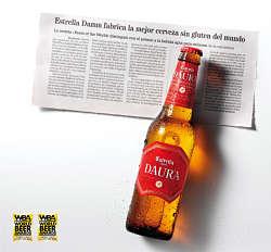 Toca Comer. Damm, cerveza para celíacos. Marisol Collazos Soto