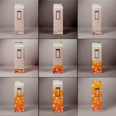Toca Comer. Envase de leche que cambia de color con el tiempo. Rafael Barzanallana