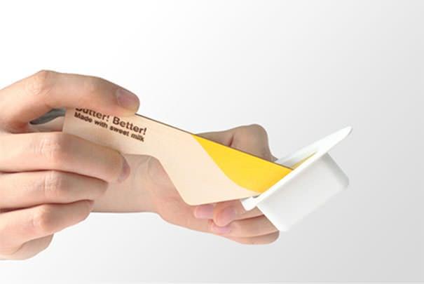 Toca Comer. Envase creativo para mantequilla. Marisol Collazos Soto