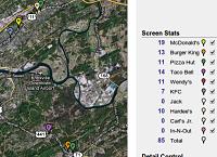 Toca Comer. Búsqueda de sitios de fast food en EE.UU. mediante Google Mpas. Marisol Collazos Soto
