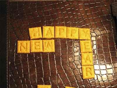 Toca Comer. Feliz 2012 con chocolate y galletas. Marisol Collazos Soto