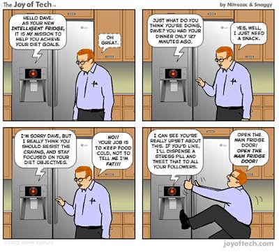 Toca Comer. ¿Es mejor reparar un frigorífico o fabricar uno nuevo?. Marisol Collazos Soto, Rafael Barzanallana