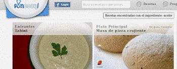 Toca Comer.   Nueva red social de recetas de cocina, en español. Marisol Collazos Soto, Rafael Barzanallana