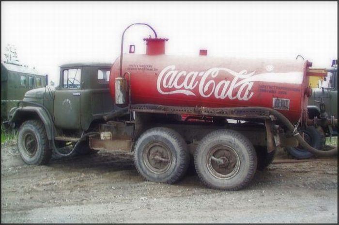 Toca Comer. Humor, tanque Coca Cola. Marisol Collazos Soto