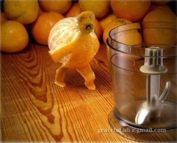 Toca Comer.  Juegos de cocina con naranjas . Marisol Collazos Soto, Rafael Barzanallana