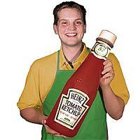 Toca Comer.Una solución para extraer el ketchup fácilmente de la botella, Marisol Collazos Soto