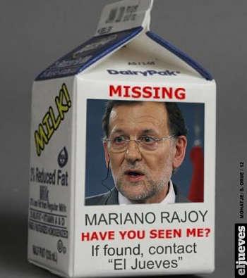 Toca Comer.   Humor con Mariano Rajoy y la leche. Marisol Collazos Soto, Rafael Barzanallana
