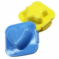 Toca Comer. Moldes de plástico para cocer huevos. Marisol Collazos Soto, Rafael Barzanallana