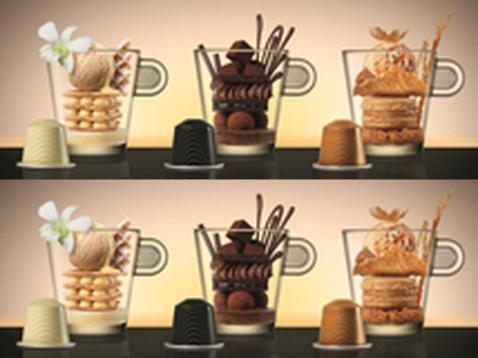Toca Comer. Nespresso presenta tres nuevos sabores de café. Marisol Collazos Soto, Rafael Barzanallana