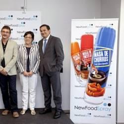 Toca Comer. Productos alimentarios en spray. Marisol Collazos Soto, Rafael Barzanallana