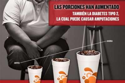 Toca Comer. Campaña de la ciudad de Nueva York contra raciones XXL. Marisol Collazos Soto