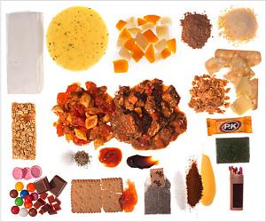 Toca Comer. Ración comida en guerras, ejército Australia. Marisol Collazos Soto