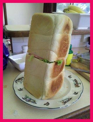 Toca Comer. Sandwich vegetal gigante. Marisol Collazos Soto, Rafael Barzanallana