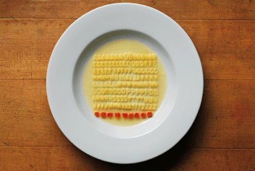 Toca Comer. Arte de lo cotidiano y TOC por ordenar, sopa de letras. Marisol Collazos Sotool