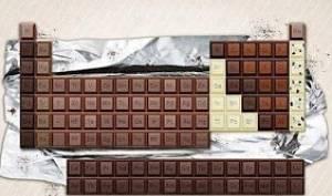 Toca Comer. Tabla periódica de los elementos químicos, de chocolate. Marisol Collazos Soto, Rafael Barzanallana