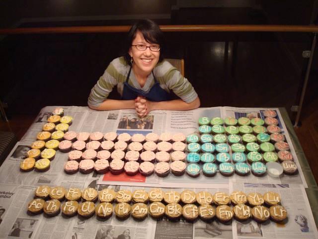 Tabla peridica de las galletas toca comer toca comer magdalenas con smbolos qumicos marisol collazos soto urtaz Image collections