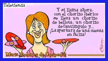Toca Comer.  Humor con Dolores de Cospedal (PP)umor con Dolores de Cospedal (PP) . Marisol Collazos Soto, Rafael Barzanallana