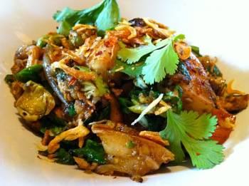 Toca Comer.  Salteado tailandés de pollo. Marisol Collazos Soto, Rafael Barzanallana