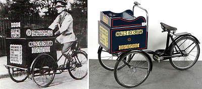 Toca Comer. Triciclo para venta ambulante de helados. Marisol Collazos Soto