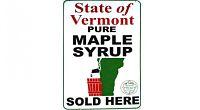 Toca Comer. Publicidad mal diseñada del puro jarabe de arce de Vermont . Marisol Collazos Soto, Rafael Barzanallana