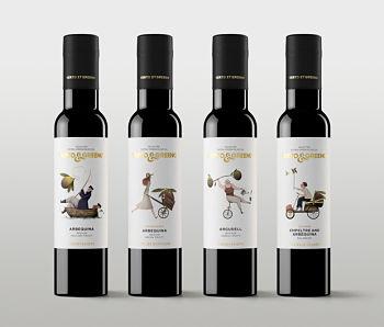 Toca Comer.  Verto & Greeno, aceite con diseño muy original. Marisol Collazos Soto, Rafael Barzanallana