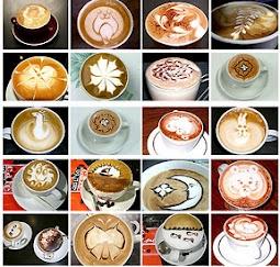 Toca Comer. Arte con café en taza. Marisol Collazos Soto